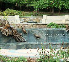 Kahlil Gibran Memorial Garden by Cora Wandel
