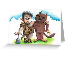 The Beast of Friends Greeting Card