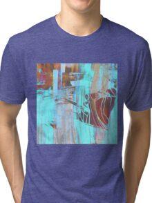 Blue Smoke Tri-blend T-Shirt