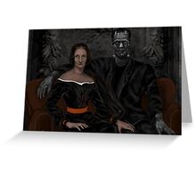 MARY SHELLEY'S DARE Greeting Card
