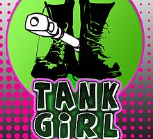 tank girl phone by tiffanyo