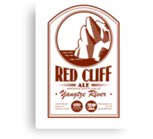 Red Cliff Ale Canvas Print