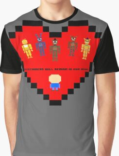 The entertainers (FNAF Animatronics) Graphic T-Shirt