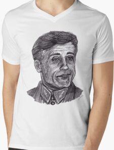 Hans Landa Mens V-Neck T-Shirt
