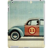 vw beatle number 11 iPad Case/Skin