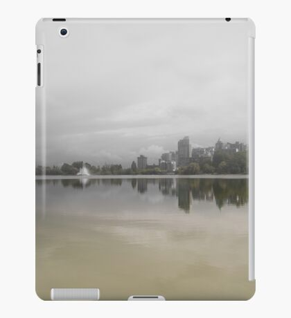 Lost lagoon Vancouver iPad Case/Skin
