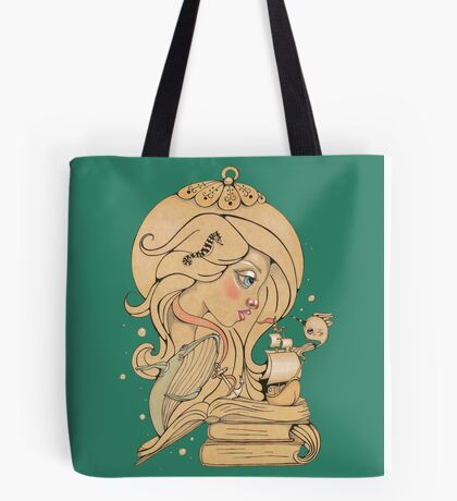 Song for the Blue Ocean Tote Bag