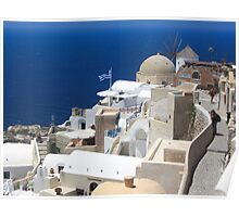 Oia view Poster