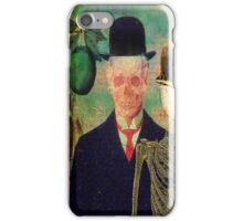 Ceci n'est pas une pomme Monsieur Bone iPhone Case/Skin