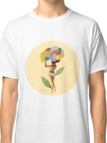 i walk out in the flowers and feel better Classic T-Shirt
