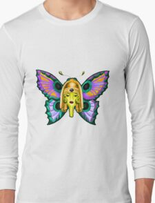 Nurse Butterfly Long Sleeve T-Shirt