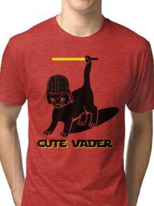 Cute Vader Tri-blend T-Shirt