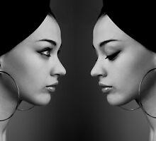 Beautiful girl by algor