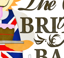 The great british bake off. Sticker