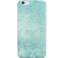 Blue Green Watercolor iPhone Case/Skin