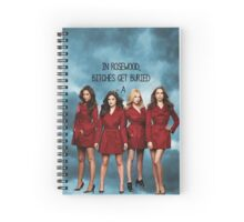 In Rosewood, bitches get buried. Spiral Notebook