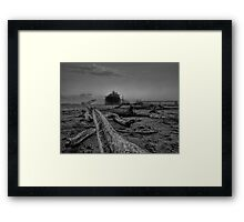 Rise of the machine -- demise of the planet Framed Print