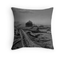 Rise of the machine -- demise of the planet Throw Pillow