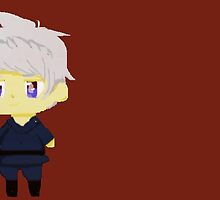 Chibi Pixel Prussia  by Awesome--Birb