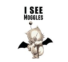 I see Moggles Photographic Print