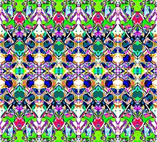 Abstract Symmetry of Colors by perkinsdesigns