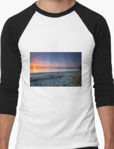 Birch bay sunset Men's Baseball ¾ T-Shirt