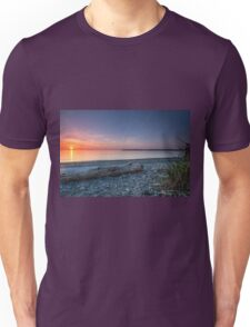 Birch bay sunset Unisex T-Shirt
