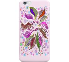 LOVE in the air... * iPhone Case/Skin