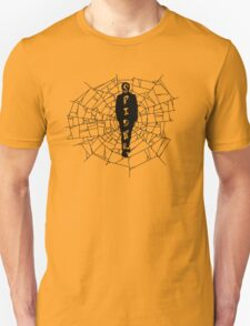 A spider at the center of a web T-Shirt