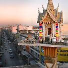 Rooftop Shrine - Thailand by RichardCurzon