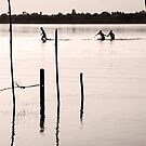 Go, Run - Mekong River - Thailand by RichardCurzon