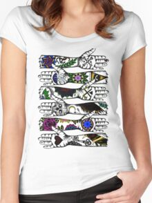 Arms of Religion Women's Fitted Scoop T-Shirt