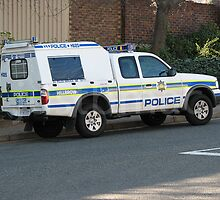 Hillbrow SAPS Vehicle by justbmac