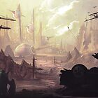 Wasteland Journey- The City of Iraxes by CarloReynolds