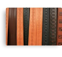 Stamped Belts Canvas Print