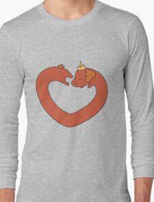 Hot Dog Princess Love Heart T-Shirt