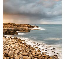 Sunset Storms at Portland Bill Photographic Print