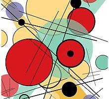 Kandinsky Inspired Design by Surpryse