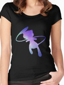 Pokemon Galaxy Mew Women's Fitted Scoop T-Shirt