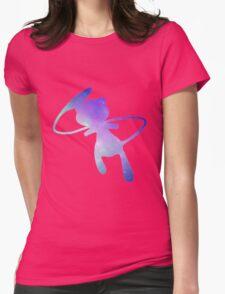 Pokemon Galaxy Mew Womens Fitted T-Shirt