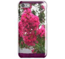 Crape Myrtle Blank P8F0 iPhone Case/Skin
