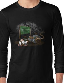 Give a Mouse a Cog Long Sleeve T-Shirt