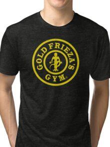 Gold Frieza's Gym Tri-blend T-Shirt