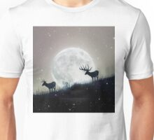 moon deer Unisex T-Shirt