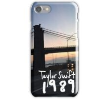 Taylor swift 1989 sunset white letters iPhone Case/Skin