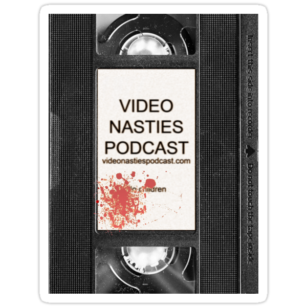 Video Nasties Podcast VHS Label by anorangemonkey