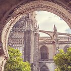 Details of Giralda Architecture. Seville by JennyRainbow