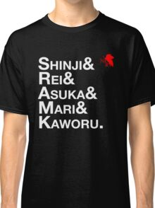 Neon Genesis Evangelion Rebuild Pilots Classic T-Shirt