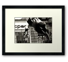 Skater Boy Framed Print