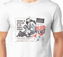 Blood Feast Poster Unisex T-Shirt